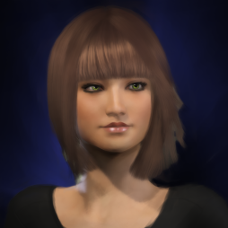 k8 Painted Portrait