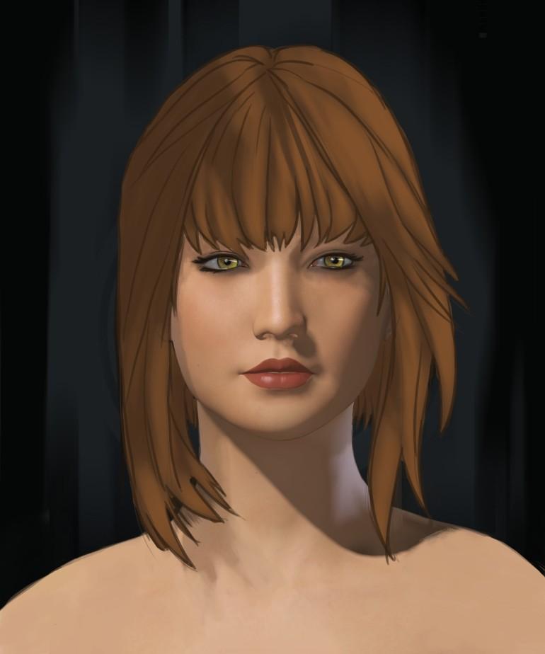 k8 Cartoon Portrait
