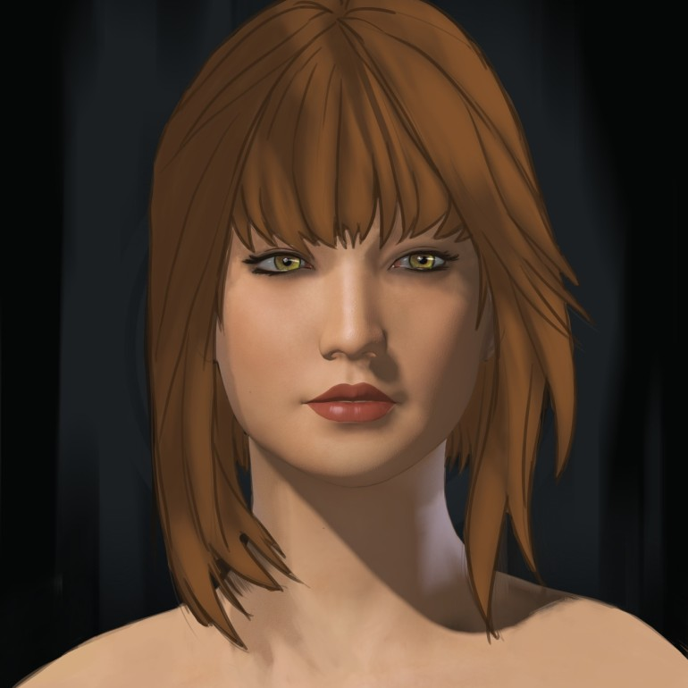 k8 Cartoon Portrait